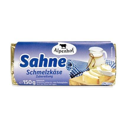 Schmelzkäsezubereitung Sahne Blöckchen 150g