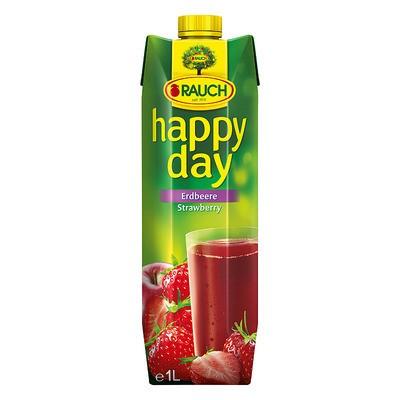 Happy Day Erdbeergetränk 50% 1L