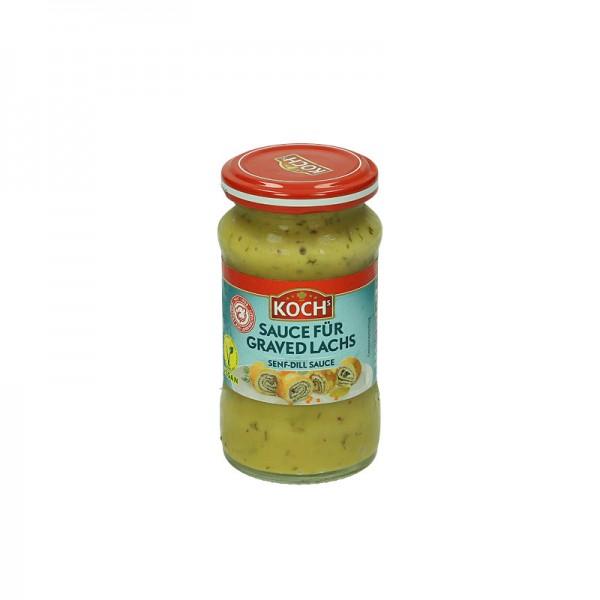 Kochs Sauce für Graved Lachs 140ml