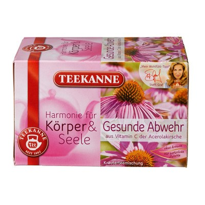 Teekanne Kräutertee Gesunde Abwehr 20x2g