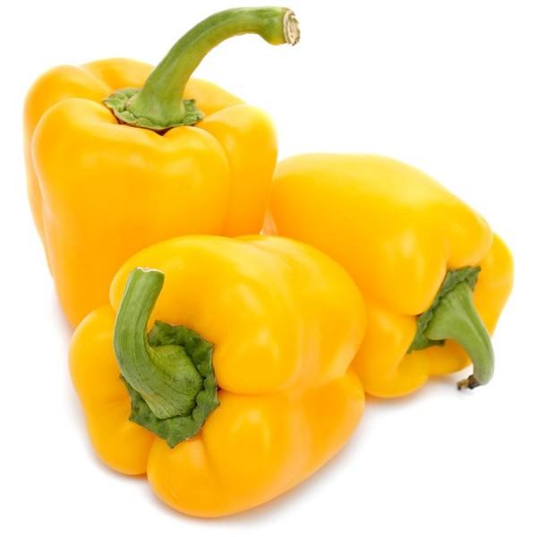 Frische Paprika gelb, 1 Stück