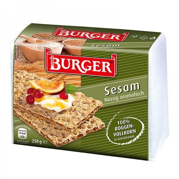 Burger Knäckebrot Sesam 250g