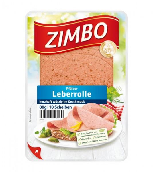 Zimbo Pfälzer Leberrolle 80g