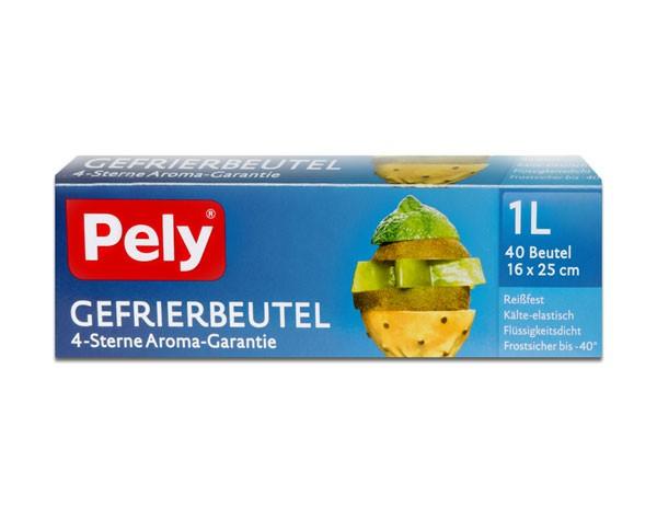Pely Gefrierbeutel 40 x 1 Liter