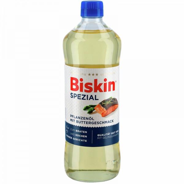 Biskin Spezial Pflanzenöl mit Buttergeschmack 0,75L