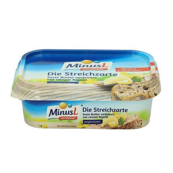 MinusL Die Streichzarte Margarine, Laktosefrei*, 200g