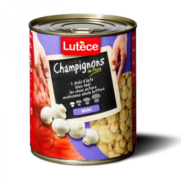 Lutèce Champignons Ganz Mini 1. Wahl 850ml