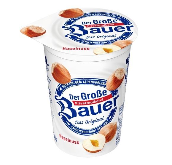 Der Große Bauer Haselnuss Joghurt 250g