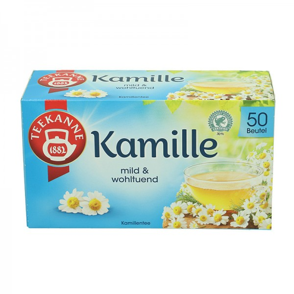 Teekanne Tee Kamille 50 St