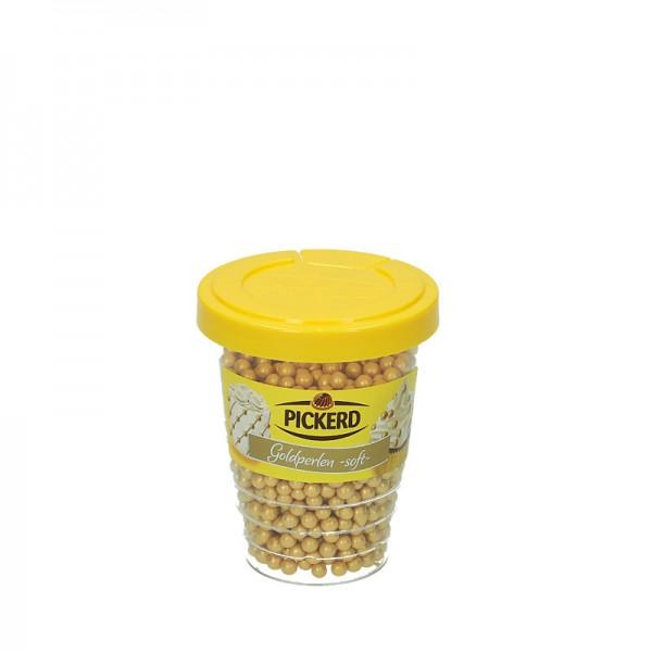 Pickerd Zuckerdekor Goldperlen 100g