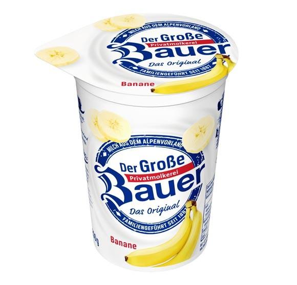 Der Große Bauer Banane Joghurt 250g