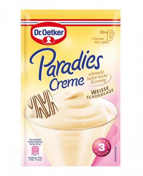 Dr. Oetker Paradies Creme Weiße Schokolade 70g