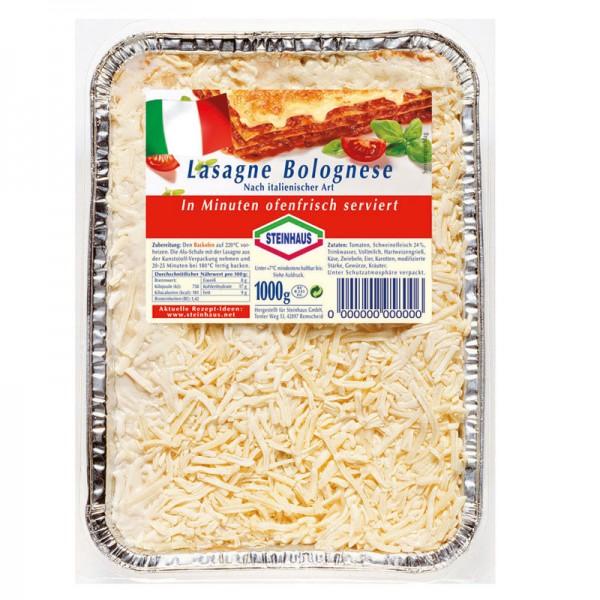 Steinhaus Lasagne Bolognese Nach italienischer Art 1kg