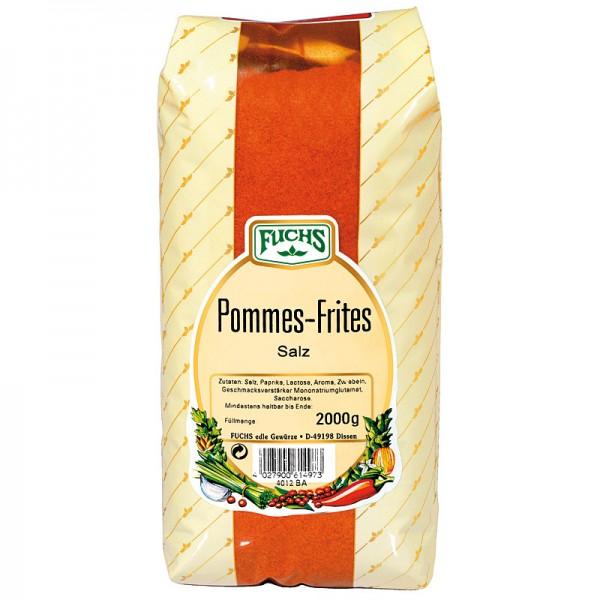 FUCHS Pommes Frites Salz 2kg
