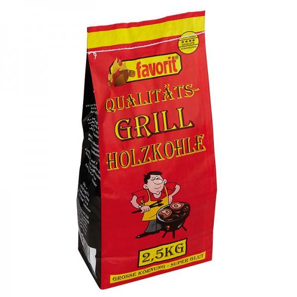Favorit Grill Holzkohle 2,5kg