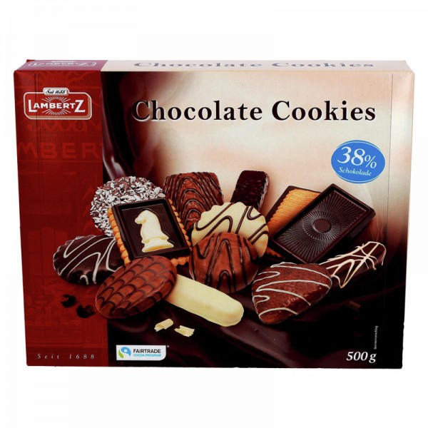 Lambertz Chocolate Cookies 500g