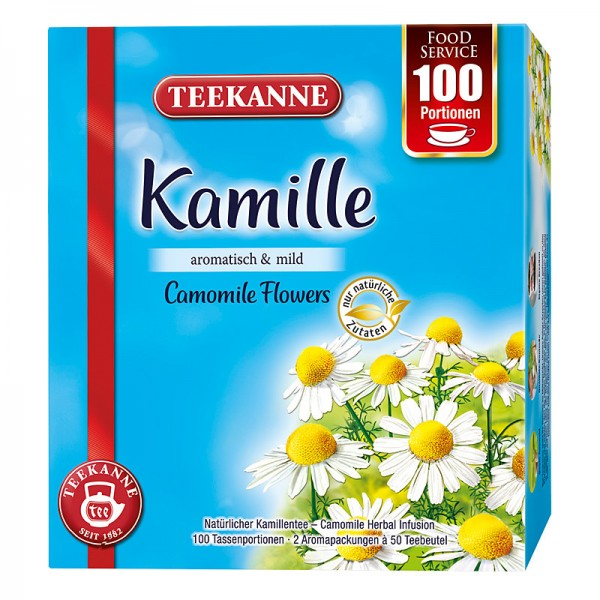 Teekanne Kamille 100x1,2g