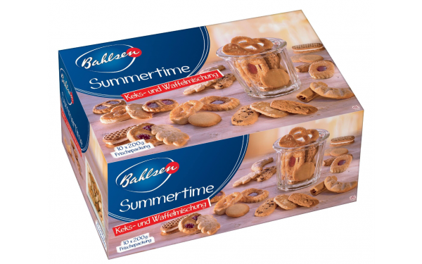Bahlsen Keks- und Waffelmischung Summertime