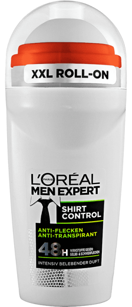 Loreal MEN Deo Roll-On Shirt Control, 48H, 50ml