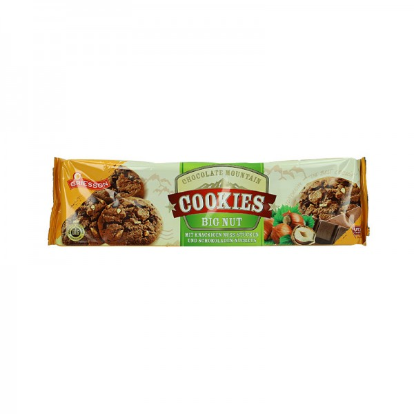 Griesson Cookies Big Nut 150g