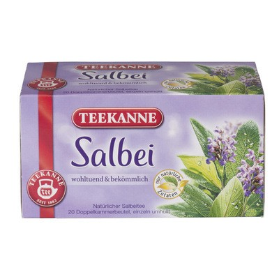 Teekanne Salbei 20x1,5g