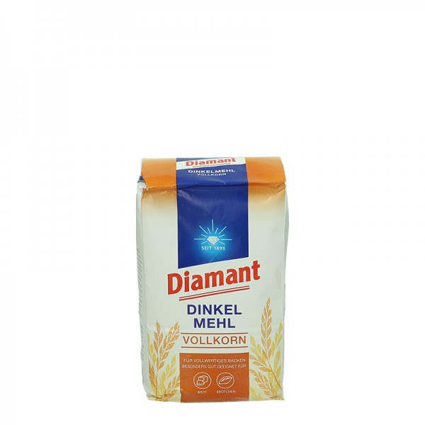 Diamant Dinkel Mehl Vollkorn 1kg