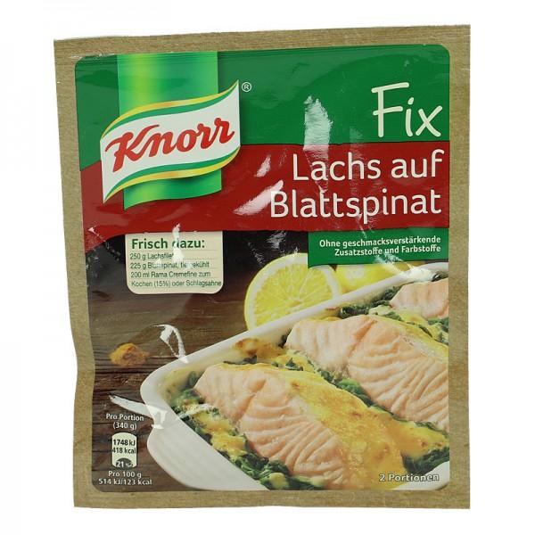 Knorr Fix für Lachs auf Blattspinat 28g