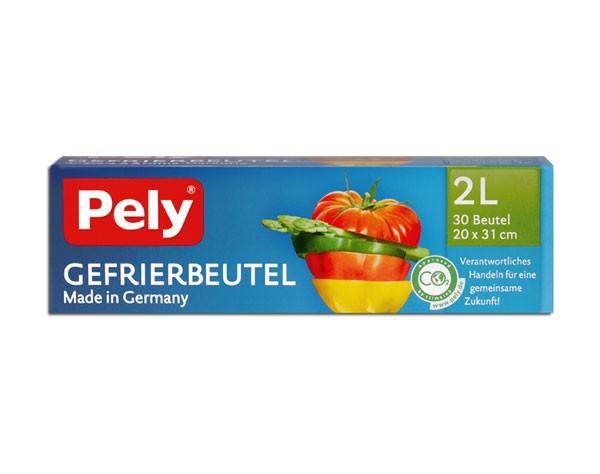 Pely Gefrierbeutel 30 x 2 Liter