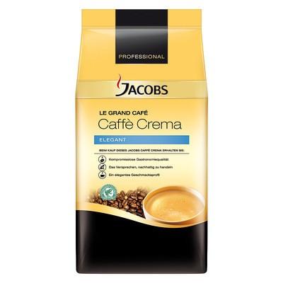 Jacobs Caffè Crema Elegant ganze Bohne, Rainforest Alliance zertifiziert 1kg