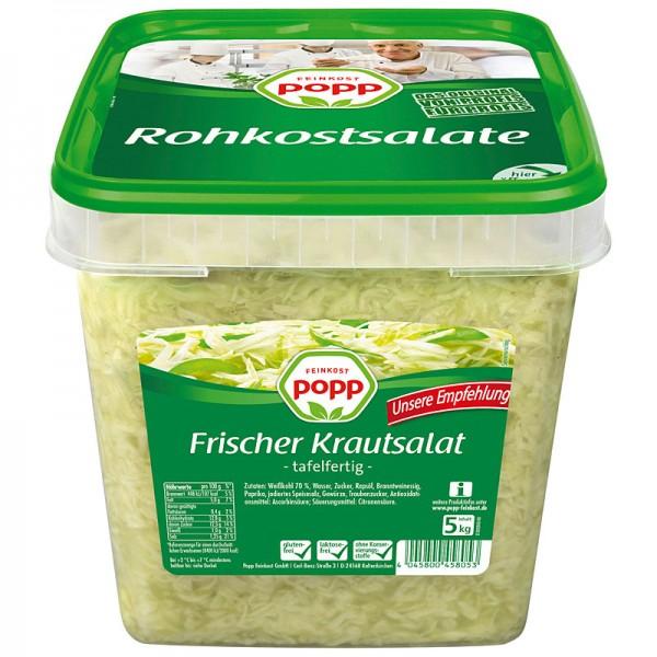 Popp Frischer Krautsalat XXL 5kg