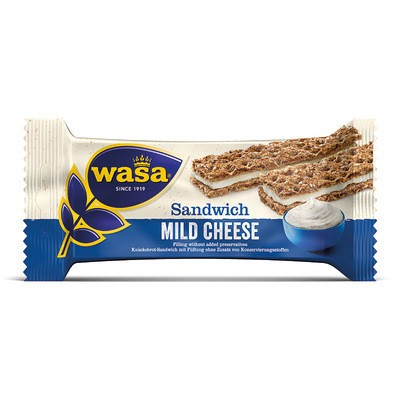 Wasa Sandwich Mild Cheese 30g