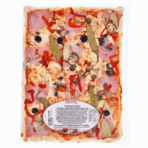 Pizza Lorenzo Familien Pizza Spezial 1250g