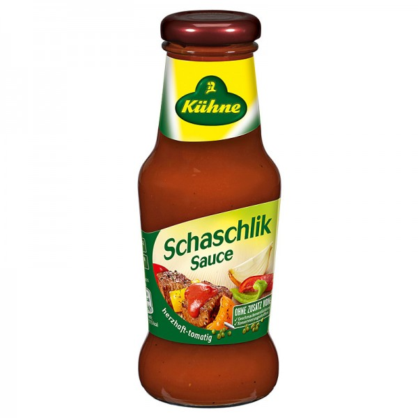 Kühne Gourmet Sauce Schaschlik 250ml