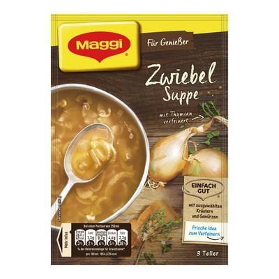 Maggi Zwiebel Suppe für Geniesser 750ml