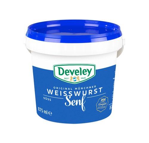 Develey Original Münchner Weißwurst Senf 875ml