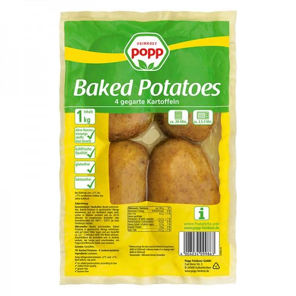 Popp Baked Potatoes 1kg