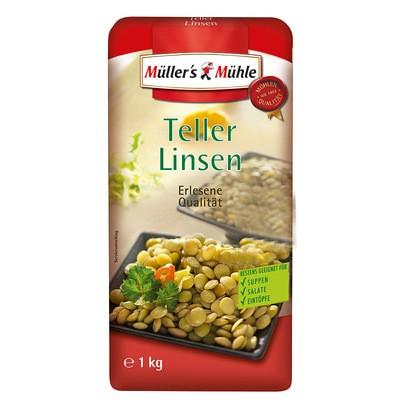 Müller's Mühle Teller-Linsen 1kg