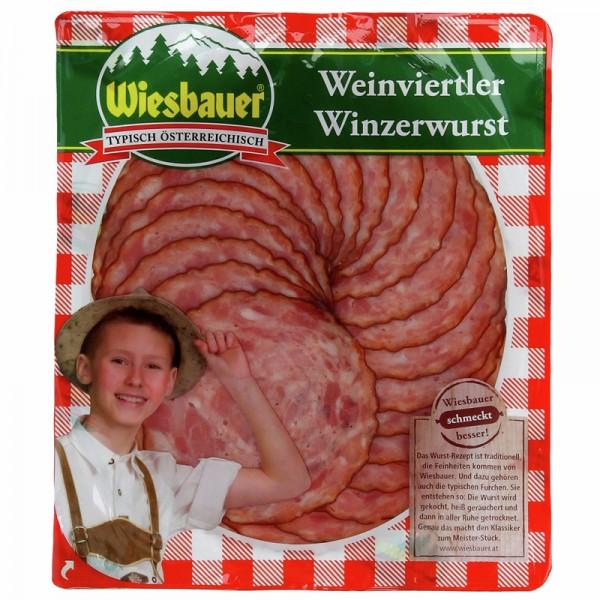 Wiesbauer Weinviertler Winzerwurst 80g