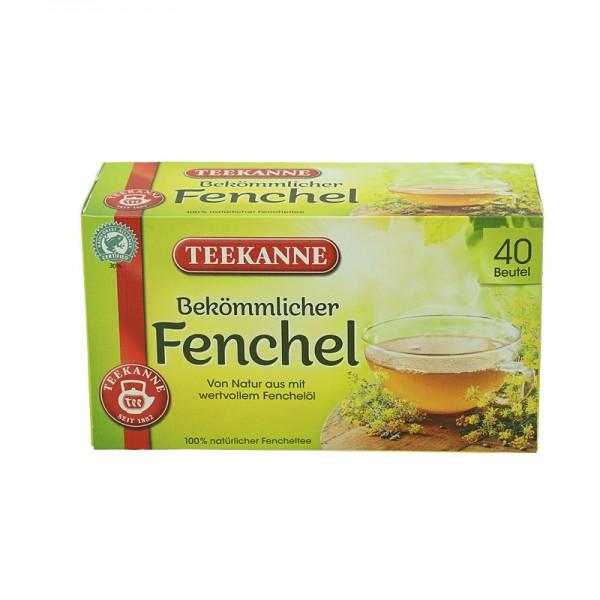 Teekanne bekömmlicher Fenchel 40 Beutel