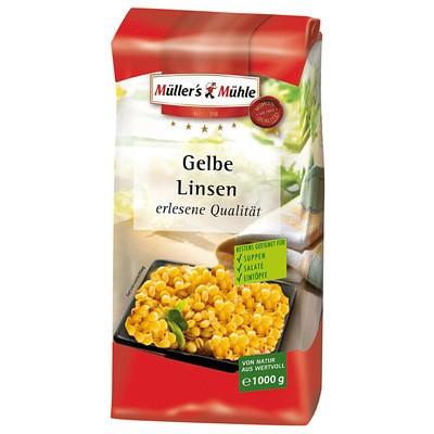 Müller's Mühle Gelbe Linsen 1kg
