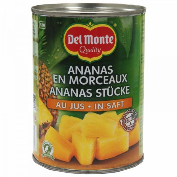 Del Monte Ananas Chunks 580ml