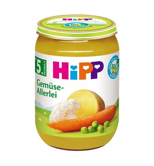 Hipp Gemüse-Allerlei ab dem 5. Monat 190g