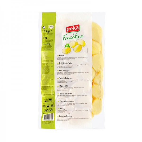 Peka Freshline Frische Delikatess-Kartoffeln ganz 2kg