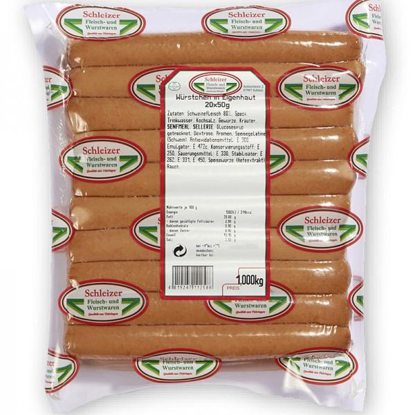Schleizer Hot Dog Würstchen 1kg
