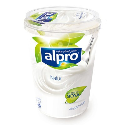 Alpro Soja Joghurtalternative Natur Laktosefrei 500g
