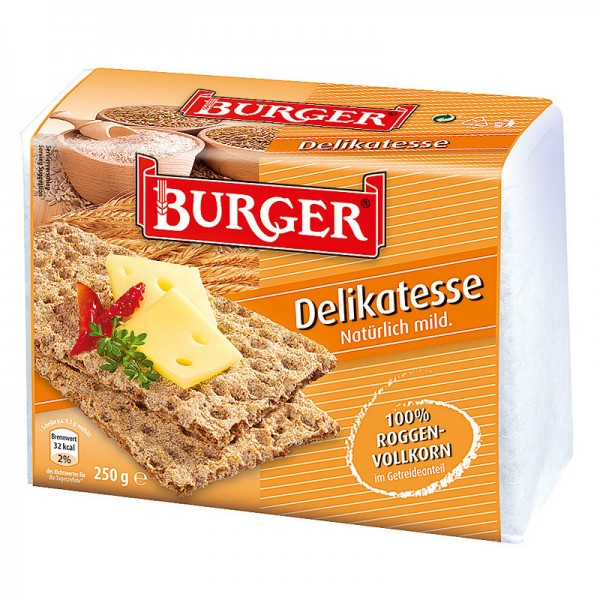 Burger Knäckebrot Delikatesse 250g