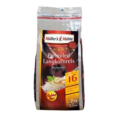 Müller's Mühle Parboiled Langkorn Reis 2kg