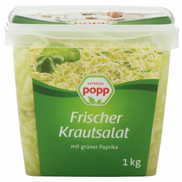 Popp Frischer Krautsalat mit grüner Paprika 1kg