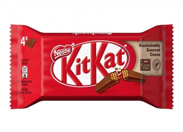 Nestlé KitKat Schokoriegel 4 Riegel á 41,5g