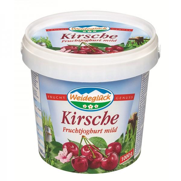Weideglück Fruchtjoghurt Kirsche 3,5% 1kg